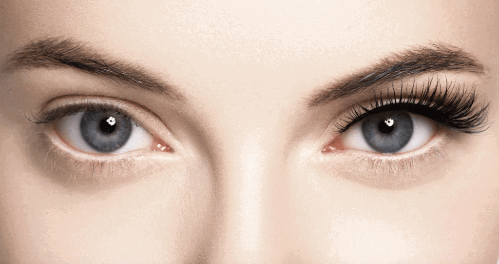 your first eyelash extensions