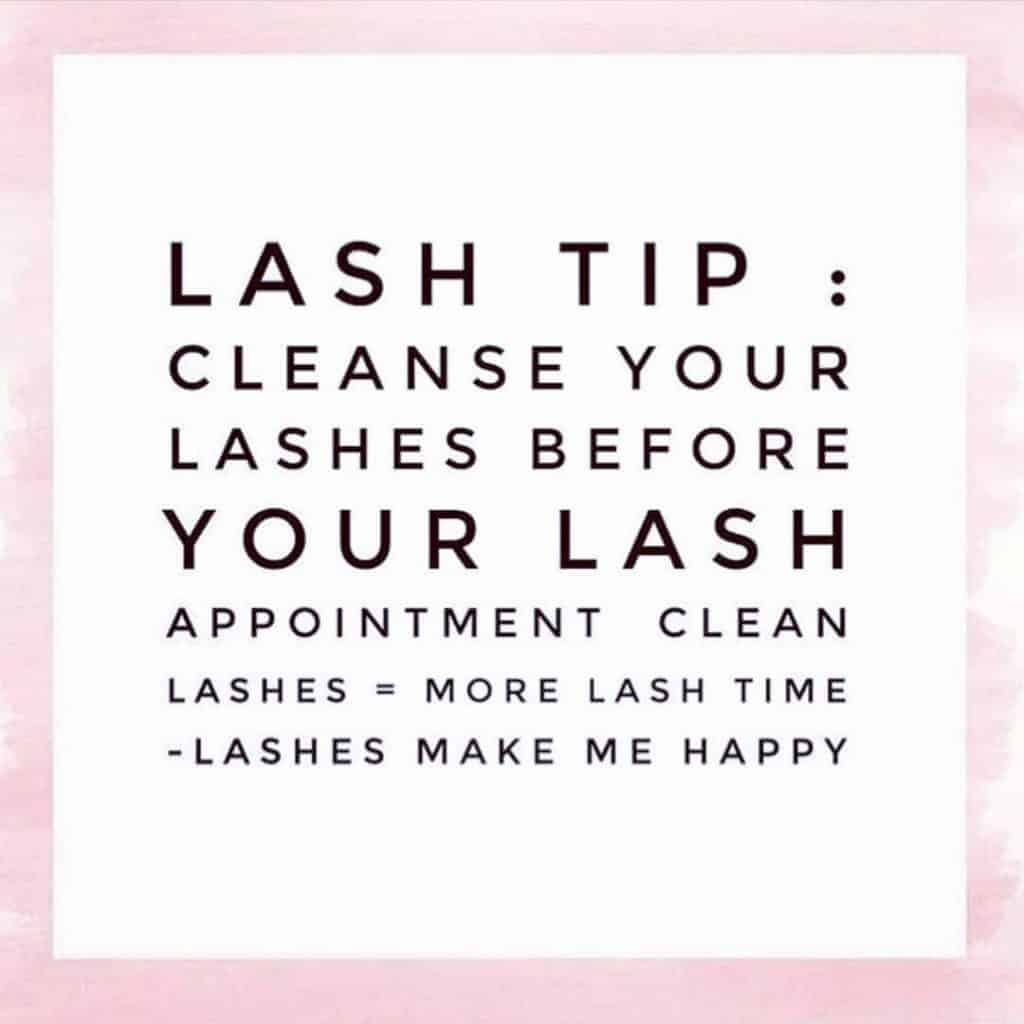 how to take care of eyelashes after extensions